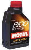 MOTUL 8100 5w30 Eco-nergy Synthetic Engine Oil 1 Liter - 102782