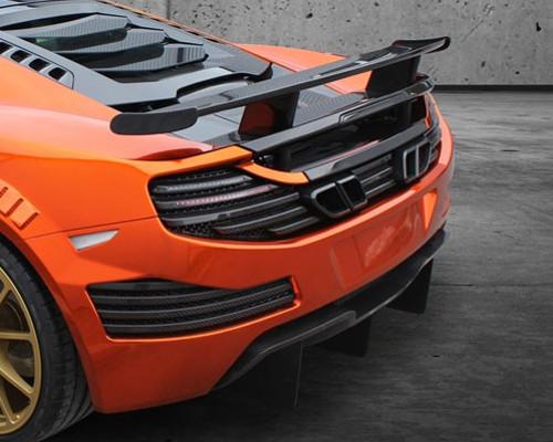 Mansory Carbon Fiber Rear Spoiler Mclaren Mp4 12c 12 14