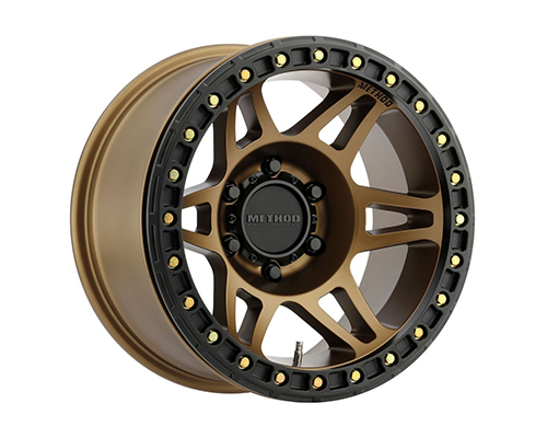 Method MR106 Beadlock Bronze Wheel 17x9 6x5.5-44mm - MR10679060944B