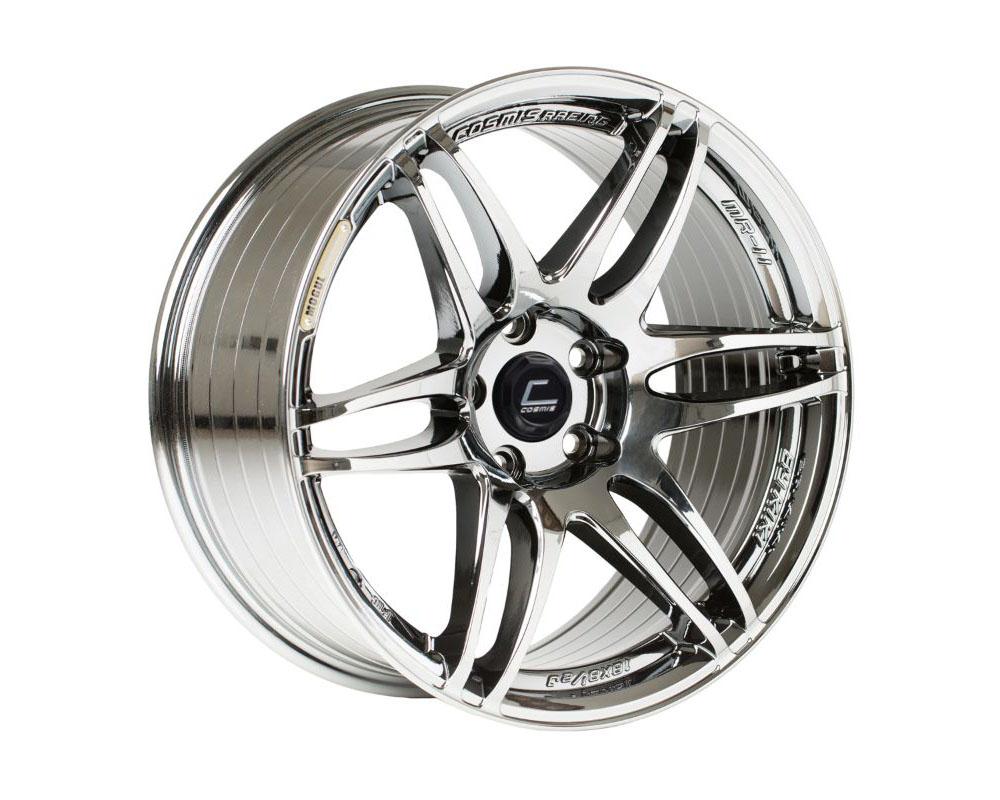 Cosmis Racing MRII Black Chrome Wheel 18x8.5 +22mm 5x100 - MRII-1885-22-5x100-BC