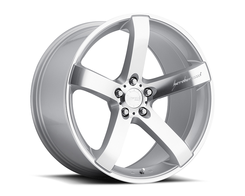 MRR Design Silver VP5 Wheel 20x9.0 - VP0520905XX20S