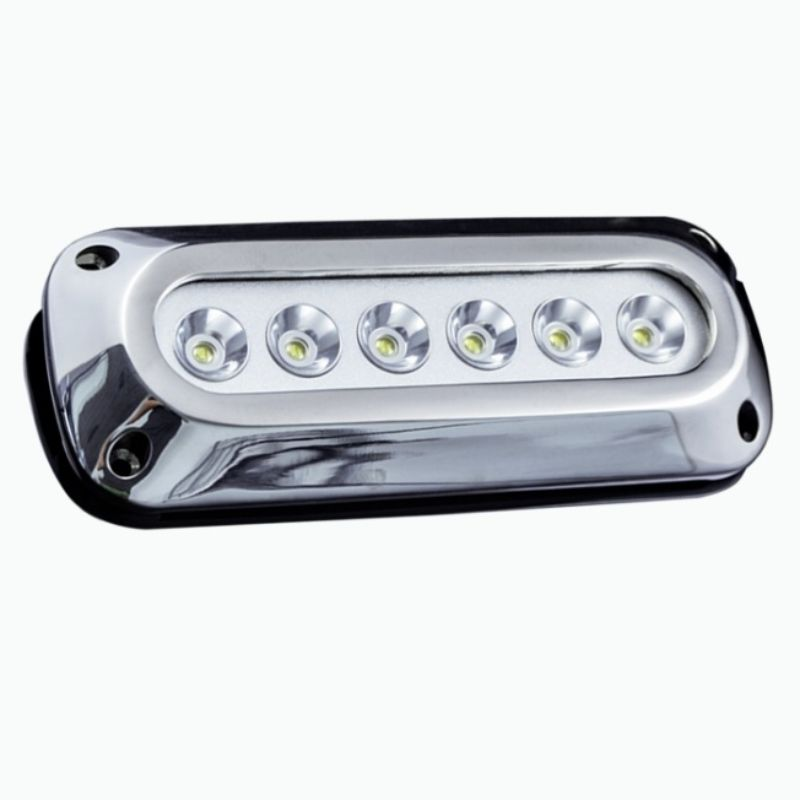 Race Sport Lighting Green 6-LED 6x3W Surface Mount Marine Light - MS-6E01ML-6X3G