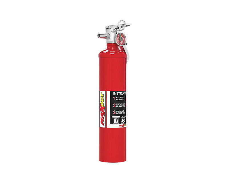 H3R Performance 2.5lb Red MaxOut Dry Chemical Fire Extinguisher - MX250R