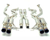 Image of MXP Stainless Complete Exhaust wChrome Tips BMW E92 M3 08-11