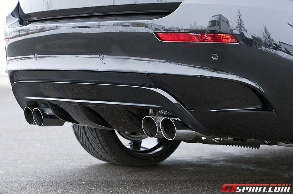 Hamann Rear Diffuser 4-Tailpipes BMW X6 M 09-12 - 10 071 541