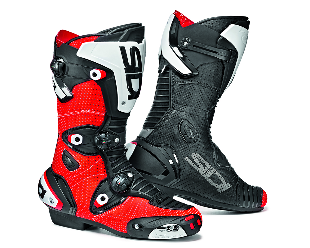 Sidi Boots Street Boots Mag-1 Air (Red Flo/Black - 9.5/43) - SIS-M1A-FRBK-43