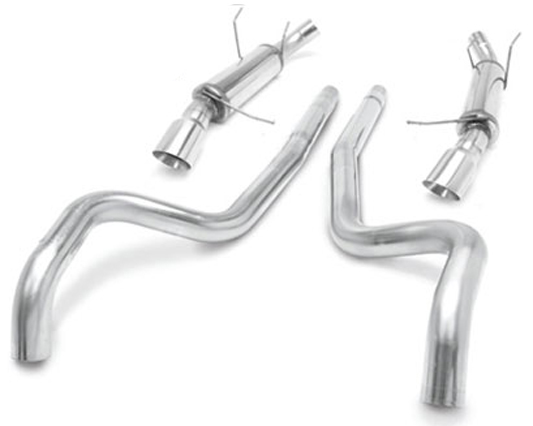 MagnaFlow Catback Competition Series Exhaust Ford Mustang GT 5.0 11-13 - 15590