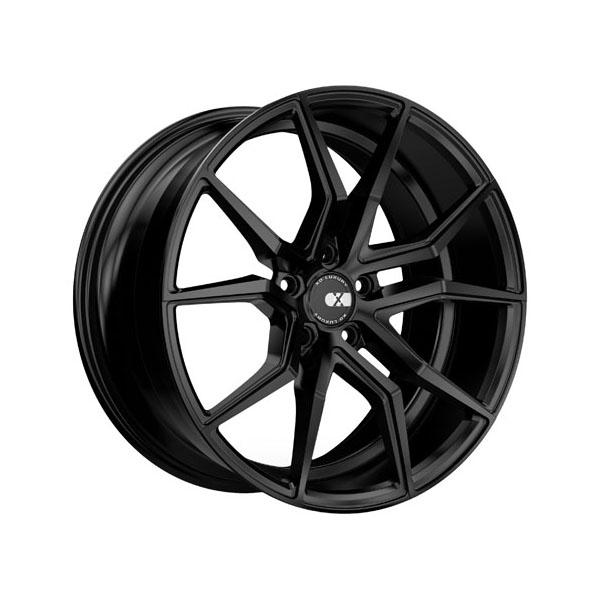 XO Luxury Verona 22x12.0 Blank +40 Matte Black - 2212VER40BBNKM66