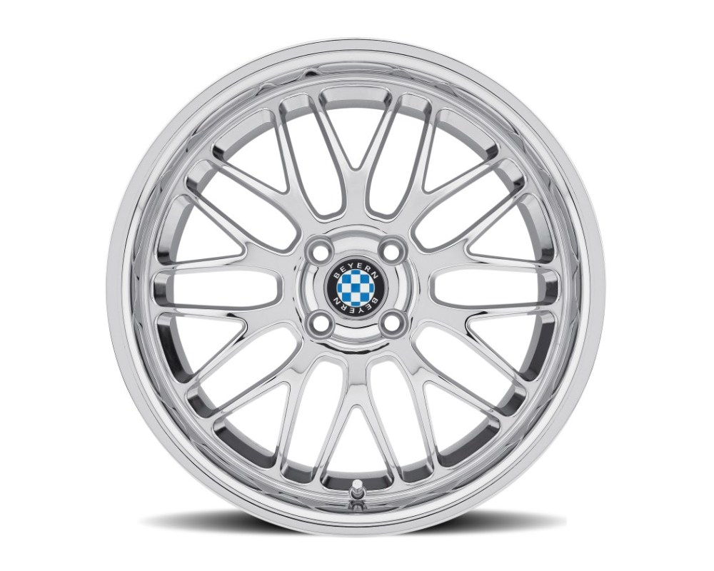 Beyern Mesh Chrome Wheel 19x8.5 5x120 30mm CB72.6 - 1985BYM305120C72