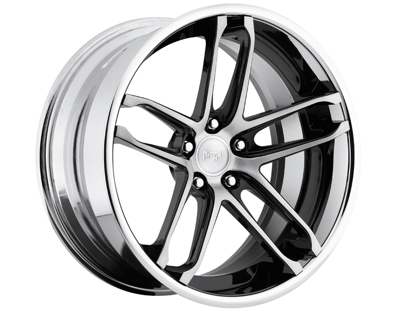 Niche Wheels 3-Piece Series A230 Monaco 24 Inch Wheel - 3PCMONACO24