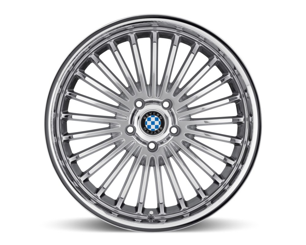 Beyern Multi Chrome Wheel 17x8 5x120 15mm CB74.1 - 1780BYT155120C74