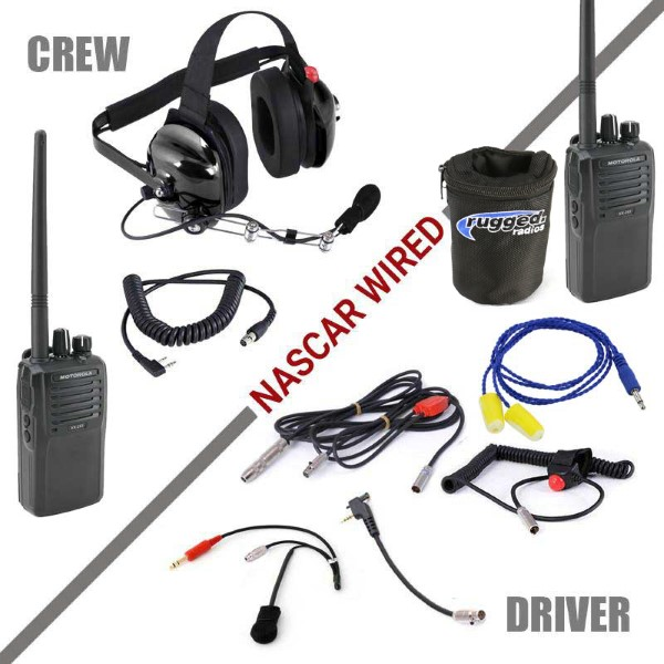NASCAR-VX | Rugged Radios NASCAR System with Vertex VX261 RadiosVivid Racing