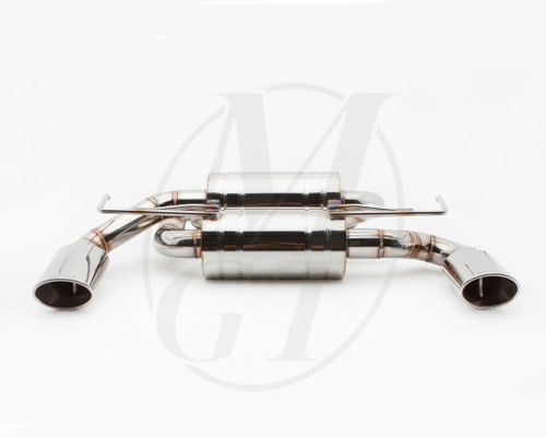 Meisterschaft Titanium GTS Ultimate Exhaust 2x120x80mm Nissan 370Z Coupe / Convertible 09-14 - NI0212516