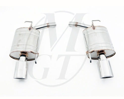 Meisterschaft Stainless GTS Ultimate Exhaust 2x120x80mm Infiniti G37 Sedan 08+ - NI0511516