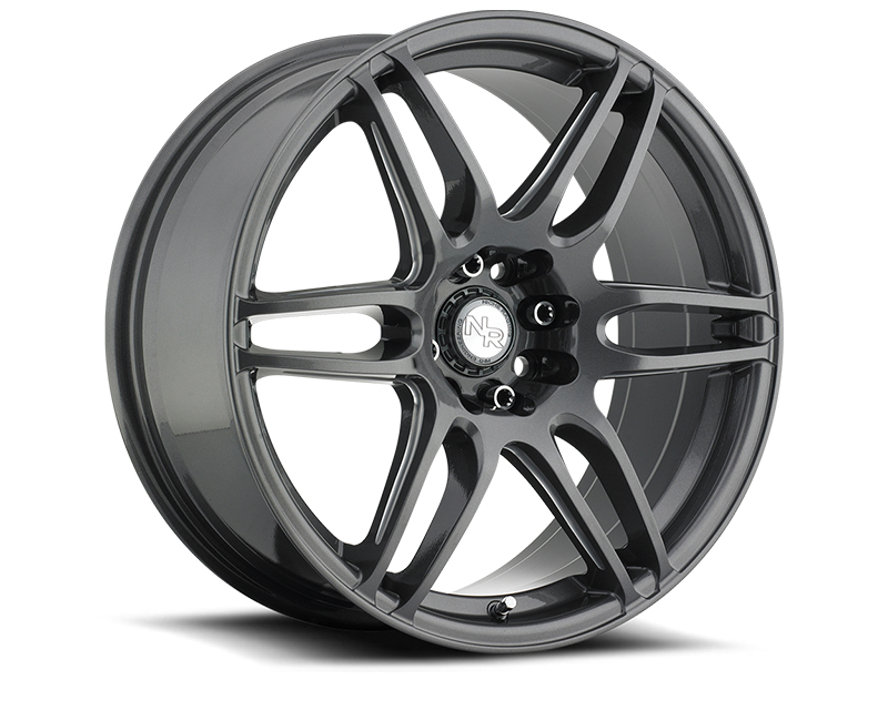 Niche NR6 M105 Anthracite & Milled Spoke Wheel 18x8 5x112 | 5x114.3 +40mm - M105188007+35