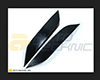 Image of AutoTecknic ABS Paintable Eyelids Nissan 350Z 03-08