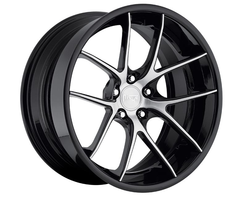 Niche Wheels 3-Piece Series A210 Targa 22 Inch Wheel - 3PCTARGA22