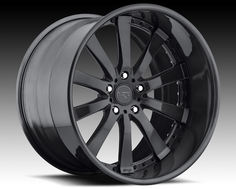 Niche Wheels 3-Piece Series N380 Element 24 Inch Wheel