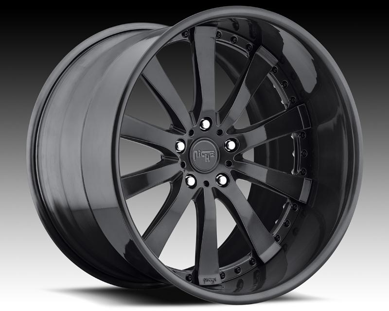 Niche Wheels 3-Piece Series N380 Element 18 Inch Wheel - 3PCELEMENT18