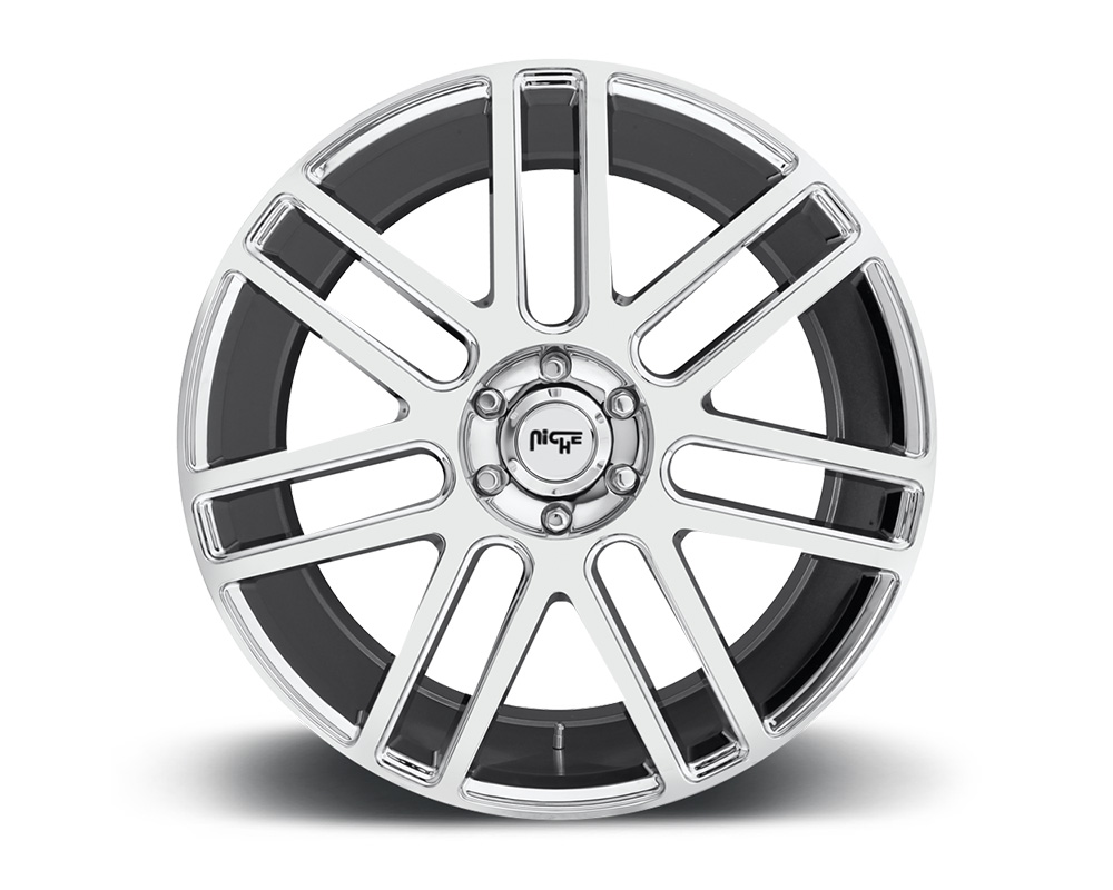 Niche M098 Elan Chrome 1-Piece Cast Wheel 22x9.5 6x139.7 30mm - M098229577+30