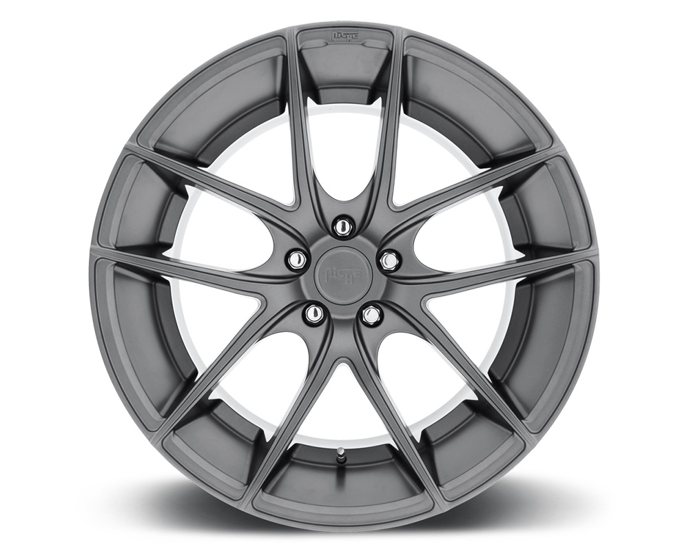 Niche M129 Targa Anthracite 1-Piece Cast Wheel 20x10 5x114.3 40mm - M129200065+40