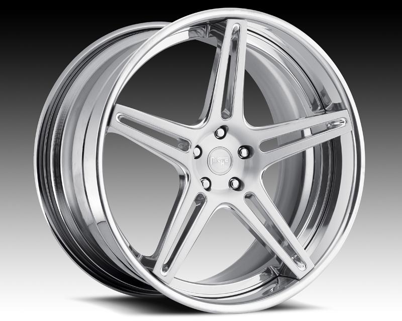 Niche Wheels 3-Piece Series A290 Mach V 21 Inch Wheel - 3PCMACHV21
