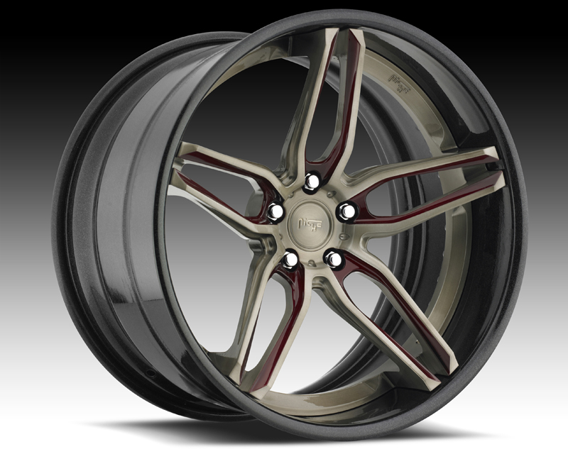 Niche Wheels 3-Piece Series A330 Spyder 20 Inch Wheel