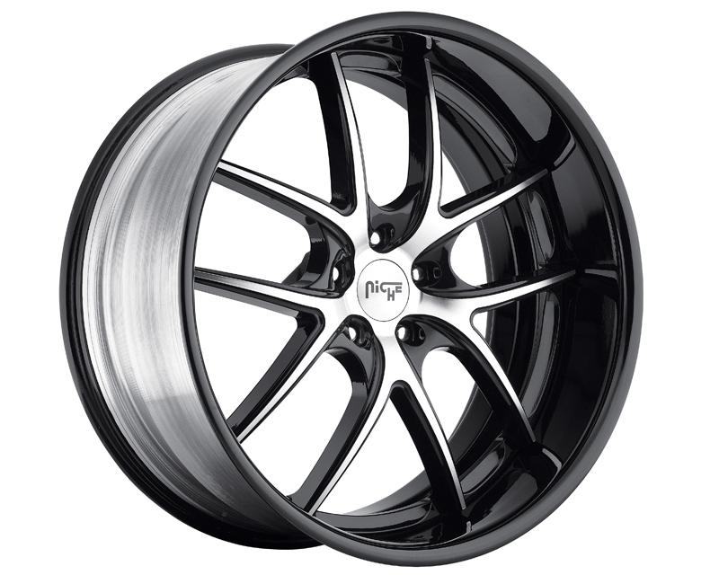 Niche Wheels Track Series M215 Targa Wheel Polished Only 20x12 - M215201200