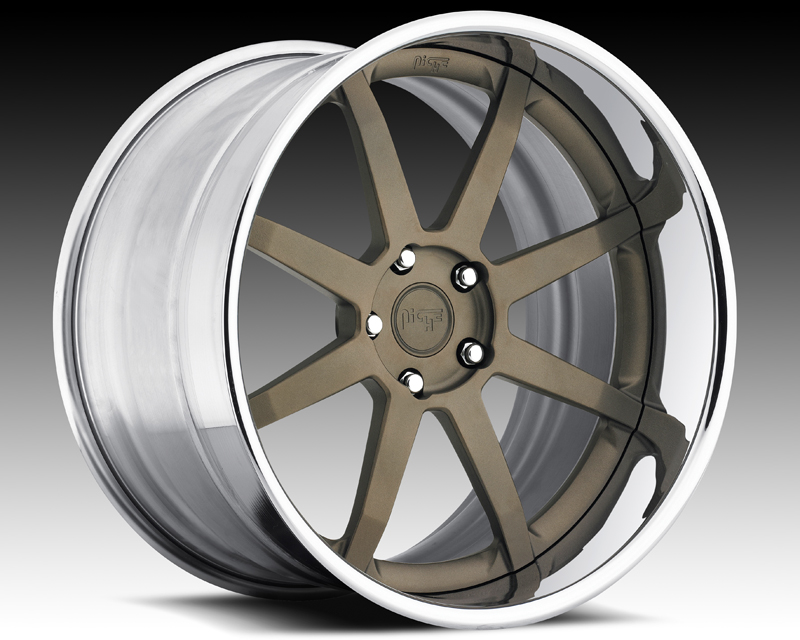 Niche Wheels 3-Piece Series N370 Vector 24 Inch Wheel