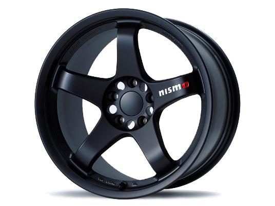 Nismo LMGT4 18x9.5 5x114.3 12mm Omori Black - WRMX12E9