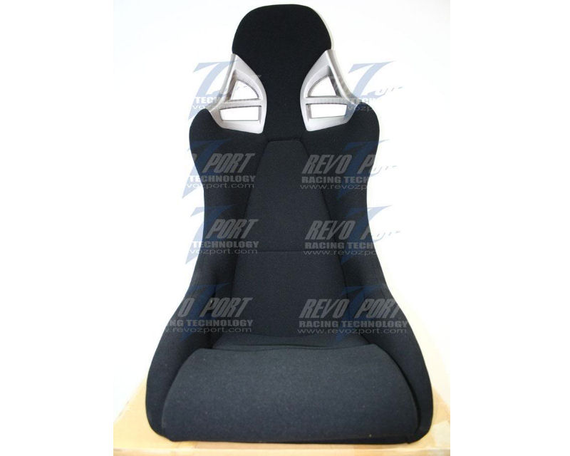 Image of RevoZport Black Cloth Porsche 997 GT3 Style Side Mount Racing Seat