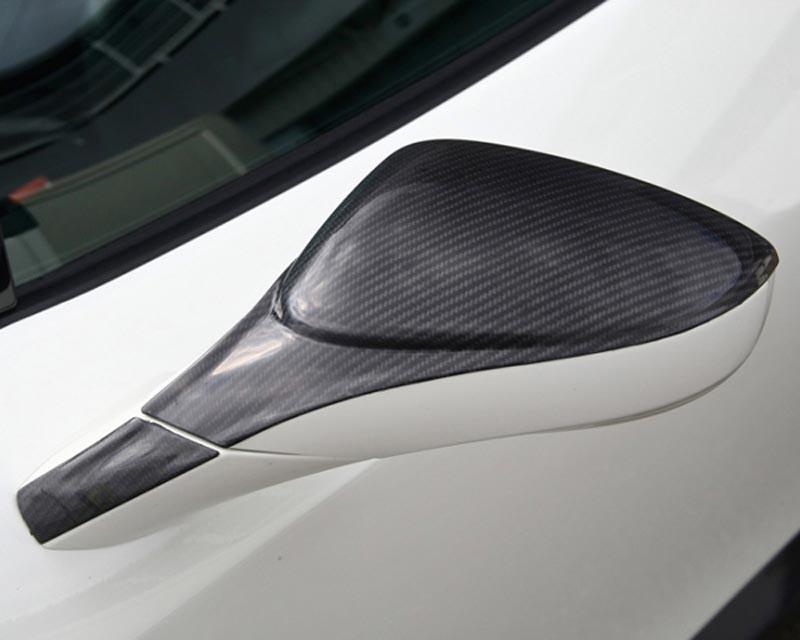 Oakley Design Carbon Fiber Mirror Covers Ferrari 458 Italia 10+ - OD/458FER/CFA/003j