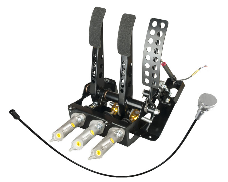 OBP337DBW2 | obp Motorsport Mitsubishi EVO Hydraulic Clutch Floor Mounted Cockpit Fit Pedal Box ...