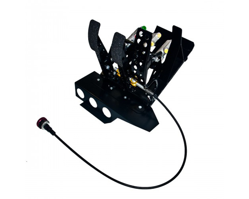 obp Motorsport Track-Pro Left Hand Drive Hydraulic Clutch Pedal Box with Master Cylinder BMW 325i E46 99-05 - OBPBLE468