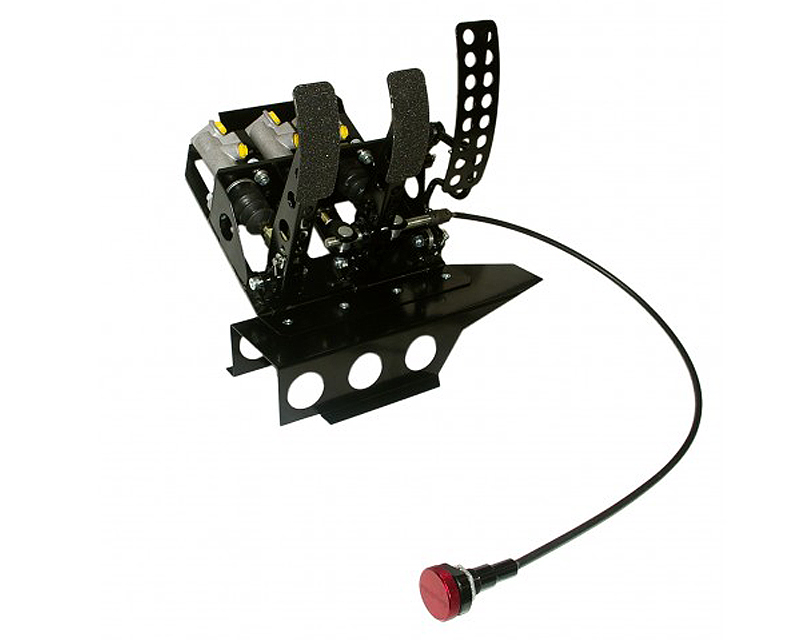 obp Motorsport Track-Pro Left Hand Drive Hydraulic Clutch Pedal Box with Master Cylinder BMW 320i E36 92-98 - OBPBMWL008