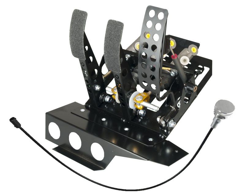 obp Motorsport Track-Pro Left Hand Drive Hydraulic Clutch Pedal Box with Master Cylinders BMW 328i E46 99-05 - OBPBMWL008DBW2