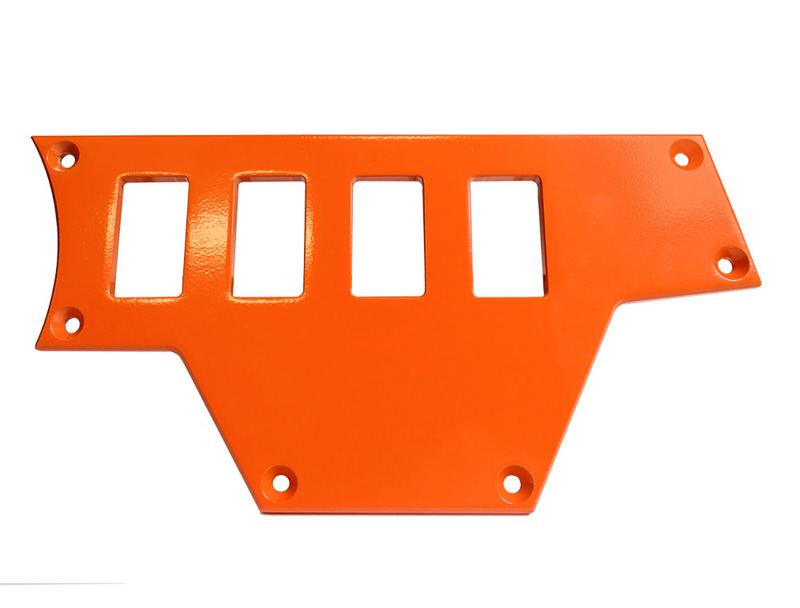 Right Side 4 Switch Plate for Polaris RZR Orange PRP Seats - ODL-217095
