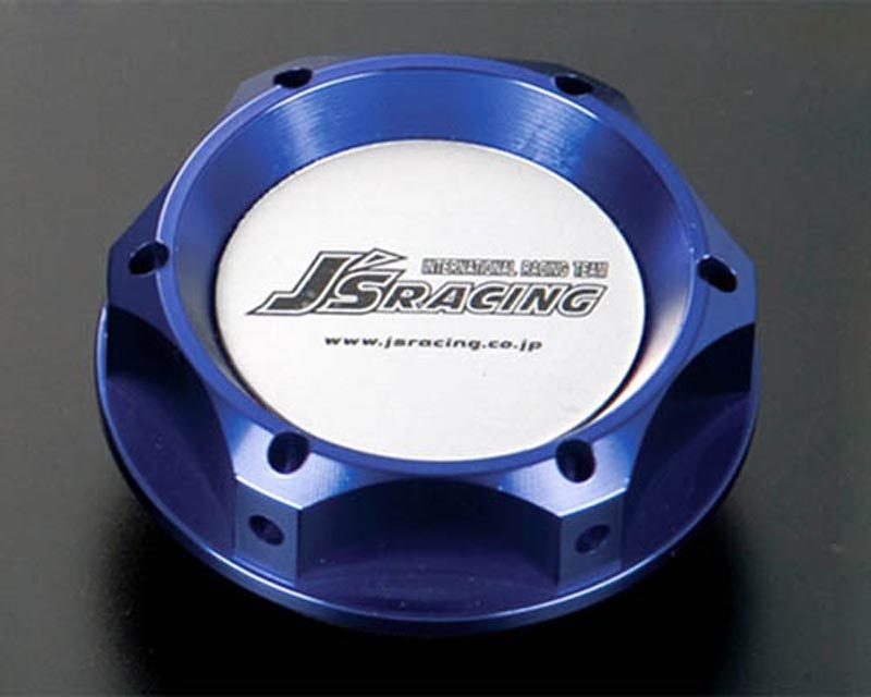 Js Racing Blue Engine Oil Filler Cap Acura Integra/RSX/TSX | Honda Civic/CR-Z/Fit/S2000 91-19 - OFW-BL