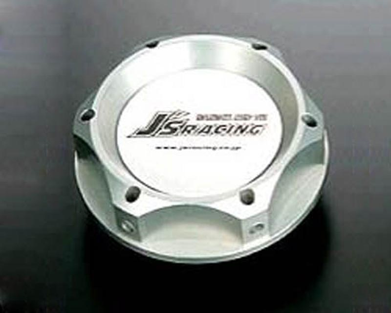 Js Racing Silver Engine Oil Filler Cap Acura Integra/RSX/TSX | Honda Civic/CR-Z/Fit/S2000 91-19 - OFW-SL