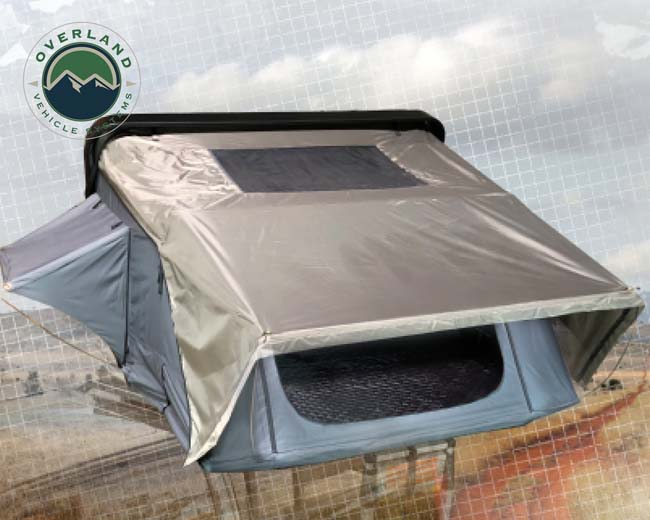 Overland Vehicle System Bushveld Hard Shell Roof Top Tent 4 Person - 18089901