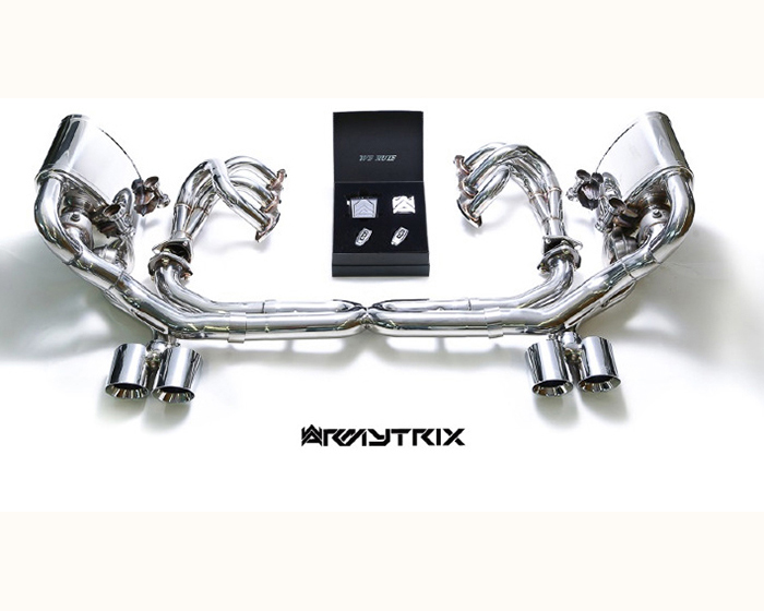 Image of Armytrix Super Sport Performance Exhaust Porsche 997.2 Carerra S PDK 09-11