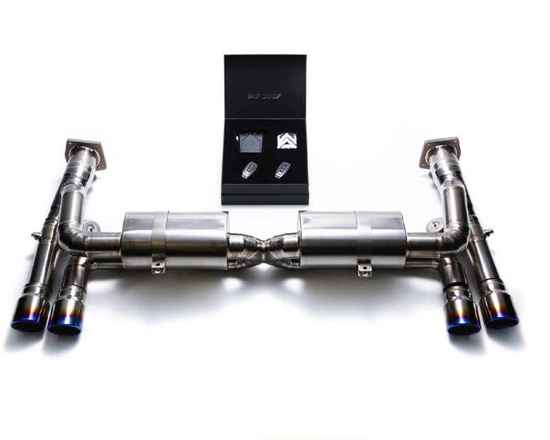 Image of Armytrix Super Sport Performance Exhaust Porsche 997.2 GT3 10-11