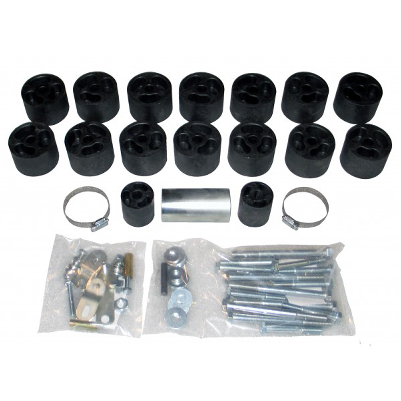 2 Inch Body Lift Kit 82-93 S10/S15 Pickup Extended Cab Only 2WD/4WD Gas Performance Accessories - PA532X