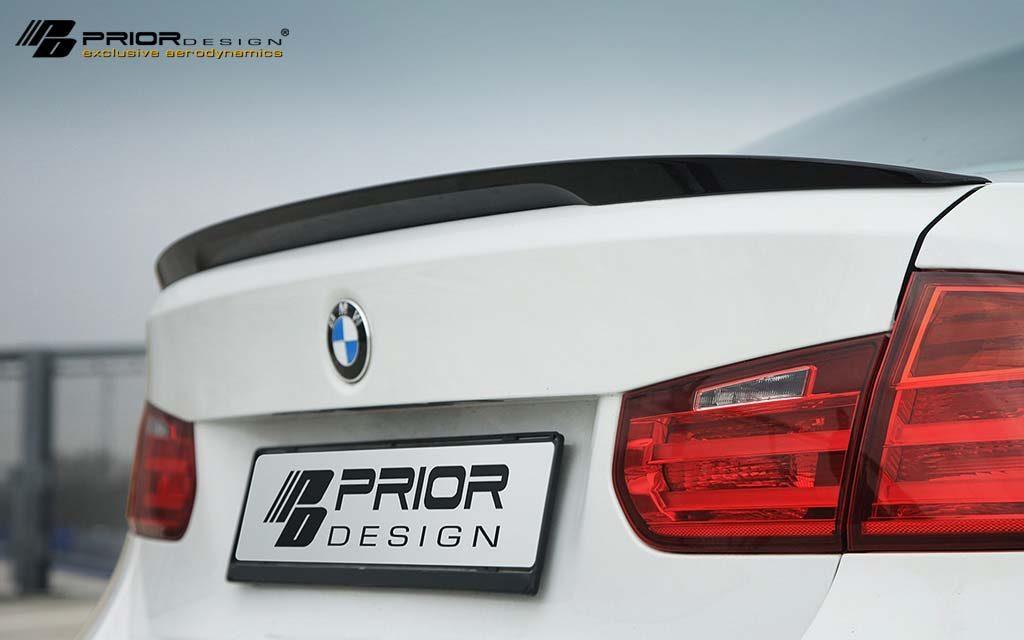 Prior Design PDM-1 Rear Trunk Spoiler BMW 3-Series F30 12-19 - 4260609890877