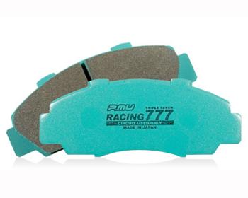 Project Mu Racing 777 Rear Brake Pads Nissan R35 GT-R Brembo 09-18 - P7R261