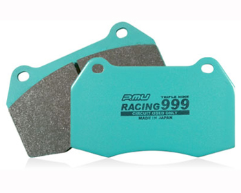 Project Mu Racing 999 Front Brake Pads Nissan R35 GT-R Brembo 09-18 - P9F261
