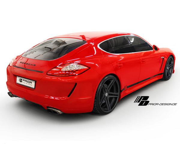 Prior Design PD3 Rear Bumper W/Rear Diffuser Porsche 970 Panamera Non-Turbo 10-17 - 4260609893373