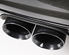 Image of Milltek Catback Cup System with Gloss Black Tips Porsche Panamera Turbo Turbo S 10-15