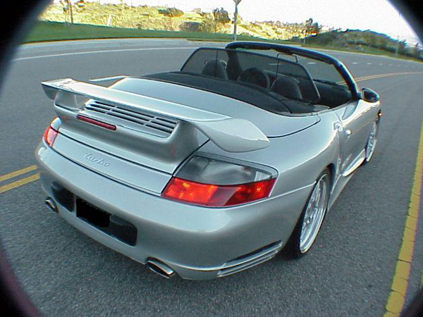 Precision Porsche GT2 Rear Wing 996TT 01-05