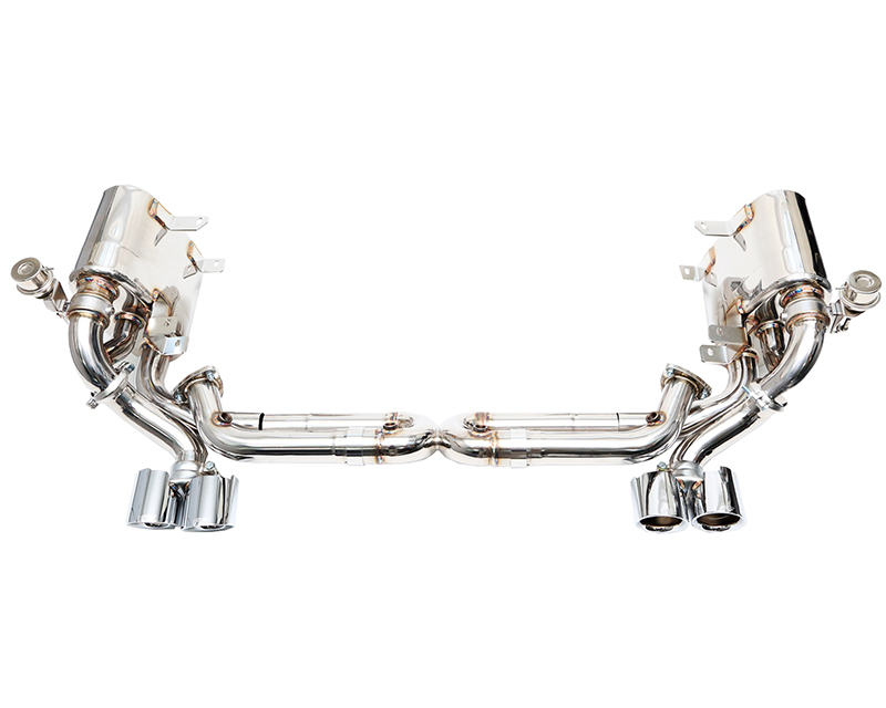 IPE Stainless Steel Valvetronic Exhaust System with Remote and Polished Tips Porsche Carrera S | 4S 997 05-08 - PR008